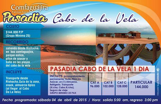 Pasadia Cabo de la Vela