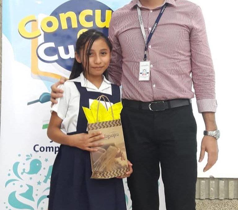 Concurso de Cuento Departamental #TeCuentoGuajira con la participacion de niños pertenecientes al Programa Jornada Escolar Conplementaria de Comfaguajira.