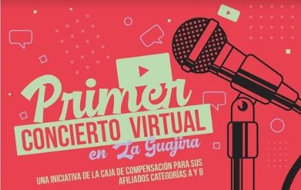 PRIMER CONCIERTO VIRTUAL EN LA GUAJIRA